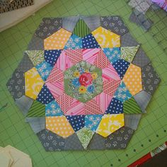 Surely you're sick of seeing rose star blocks by now, right? Well that's just too bad because I have another one to share and I need your h...
