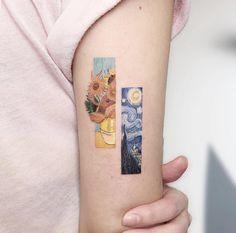 Eden Kozo is a tattoo artist from Qiryat Ono, Israel. Eden Kozo is a tattoo artist from Qiryat Ono, Israel. Lana tonettemarcos Tattoos And Body Art Tattooist Eden Kozo. Van Gogh Tattoo, Mini Tattoos, Body Art Tattoos, Tatoos, Sleeve Tattoos, Tattoo Ink, Tattoo Sleeves, Lace Tattoo, Sexy Tattoos
