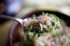 Nasi Ulam (Malaysian Mixed Herb Rice)