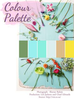 We love these pastels, such a lovely Summer feel.