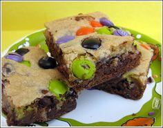 Halloween Brownies! These are so fun!