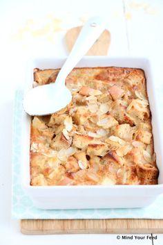 Apple Cinnamon Bread Pudding – Let op je dieet Apple Cinnamon Bread Pudding When Den … Apple Recipes, Great Recipes, Pancake Fillings, Apple Cinnamon Bread, Cooking Recipes, Healthy Recipes, Healthy Food, What's Cooking, Morning Food