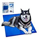 Whalek Pet Cooling Mat Pet Cooling Pad, Dog Self Cooling Mat Pad for Kenn els, Crates and Beds for XL Dogs Large Blue, with Pet Comb Cool Dog Beds, Cool Pets, Gerberian Shepsky Puppy, Pet Cooling Pad, I Love Dogs, Cute Dogs, Dog Accesories, Pet Accessories, Puppy Supplies