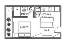 Small House Floor Plans, House Plans, Micro Apartment, Loft, Autocad, Planer, Tiny House, New Homes, Flooring