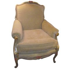 Napoleon III, French Style Chair   From a unique collection of antique and modern chairs at https://www.1stdibs.com/furniture/seating/chairs/