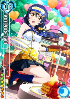 Love Live School Idol Festival --- Umi Sonoda