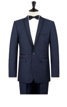 Skopes Milano Contemporary Blue Peak Lapel 2 piece Tuxedo