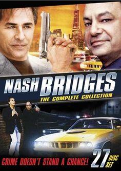 Nash Bridges: the Complete Collection 1990s Tv Shows, Old Tv Shows, Nash Bridges, Drama, Don Johnson, Feature Article, Miami Vice, Television Program, Film Posters