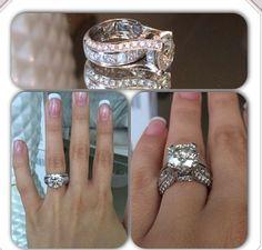 Large aquamarine diamond engagement rings - Google Search