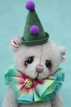 Miniature artist bear | Charles the clown Pipkins bears