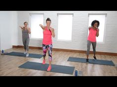 30-Minute Full-Body No-Equipment Cardio Workout to Blast Calories | Class FitSugar - YouTube