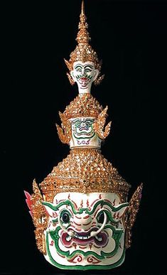 Khon mask from Thailand