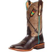 Johnny Ringo Volcano Hueso Arrow Cowgirl Boots