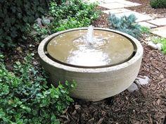 Girona cast stone fountain - contemporary - outdoor fountains - - by Creative Living Interior & Exterior decor