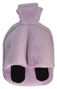Yellow Hot Water Bottle with Cover,Removeable /& Washable Soft Unicorn Bottle Cover,Natural Rubber 1 Litre