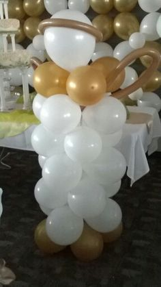 Balloon first communion angel