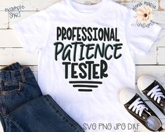 Excited to share this item from my #etsy shop: Funny Toddler SVG File,Professional Patience Tester SVG,Toddler Svg File For Cricut,Baby Boy Svg,Kid Svg,Quotes For Kids,Humor svg #funnykidsvgfile #babyboysvg #kidsvg #quotesforkids