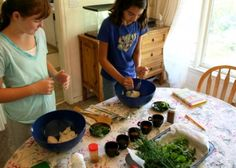 Teaching Kids About Herbs Part Two : Herbal Preparations