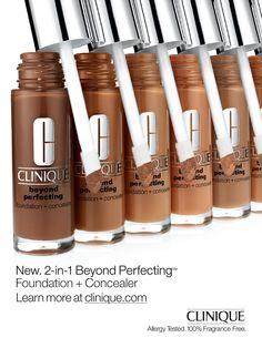 Clinique Cosmetics Advertising