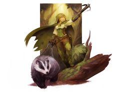 halfing hunter by wood-illustration on @DeviantArt