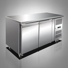 Husky CPUC2-AL 2 Door Stainless Steel Prep Counter