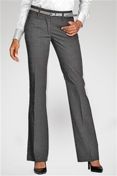City Mid-Rise Pants - Luxe Stretch Office Uniform, Tag Photo, Head To Toe, Mix N Match, Welt Pocket, Workout Pants, Stretch Fabric, Stretches, Thighs