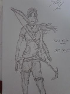 She's Lara Croft from Tomb Rider 2013(GAME).