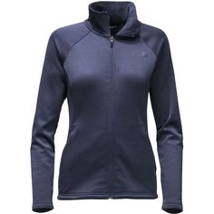 100930f8c1 The North Face - Agave Fleece Jacket - Women s - Cosmic Blue Heather  Jackets For Women
