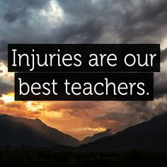 Image result for knee injured quote