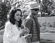 Backyard stroll.  #AngelinaJolie #BradPitt #WMagazine www.LIVETHEGLAMOUROUSLIFE.COM/2013/10/22/power-couple-angelina-jolie-brad-pitt/