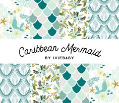 Hey, I found this really awesome Etsy listing at https://www.etsy.com/listing/504367209/caribbean-mermaid-bedding-baby-bedding