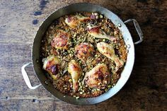 Moroccan-Spiced Chicken and Rice with Dates and Pistachios recipe on Food52