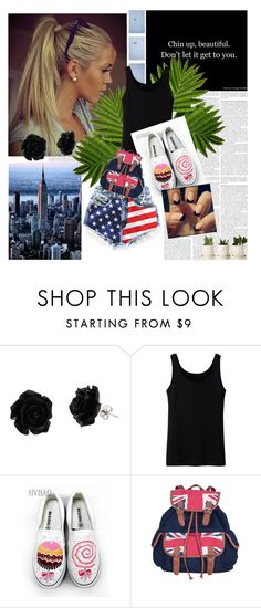 """""""Nathalia"""" by owocowabejb ❤ liked on Polyvore featuring Runwaydreamz, Uniqlo and HVBAO"""