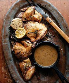 Roast Chicken and Pan Gravy Recipe