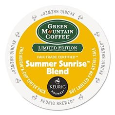 Green+Mountain+Coffee+Summer+Sunrise+Blend+K-cup+for+Keurig+Brewers,+24-count,+24+Count