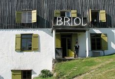 A rare example of Bauhaus style in the Alps, Pension Briol has been owned by the same family for more than a century.