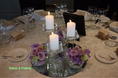 Crystal candlesticks with roses #bridaltable #weddingcenterpieces #melbourne #tablescapes  #crystalcenterpieces #weddingcrystal #weddingdecorations #weddingdecor #decoritevents #melbourne #melbourneweddings #candlestickcenterpieces #tablescapes  www.decorit.com.au (6)
