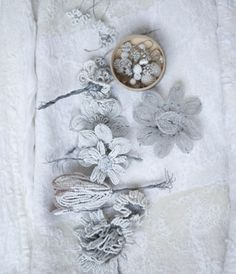 floral white embroidery, atmosphere photograpy