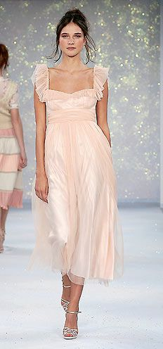 dreamy...  when you can afford it, you are too old to wear it... doesn't quite seem fair! lol