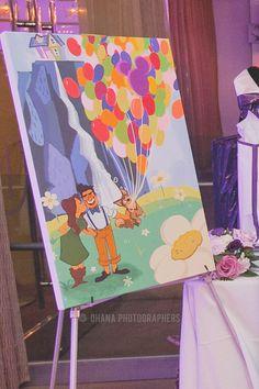 Up-Themed Disney Wedding at Home: Marissa + Paolo   Magical Day Weddings   A Wedding Atlas Fan Site for Disney Weddings