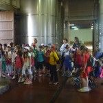 Segundo dia de la visita del colegio Pedro I de Barbastro