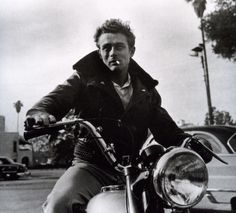 The rebel without a cause, James Dean.