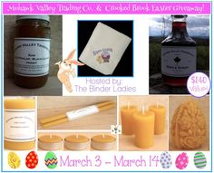 Easter Giveaway with Mohawk Valley and Crooked Brook-($140 arv) US Only, ends 3/13
