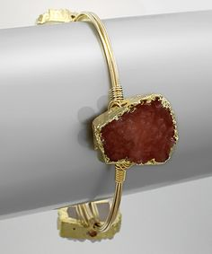 Big 3 Square Druzy Bangle