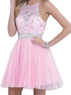 Pink Homecoming Dresses,Homecoming Dress, Cute Homecoming Dresses