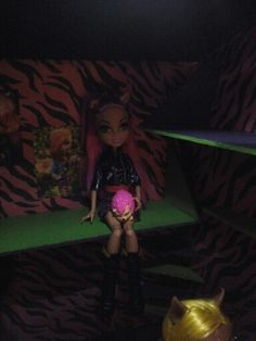 Chambre Monster High inspiration Family Wolf