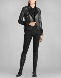Liv Tyler Lexie Lt Blouson - Black Leather Women