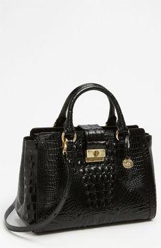 Brahmin 'Annabelle' Croc Embossed Handbag | Nordstrom