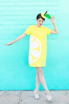 DIY Citrus Slice Costumes | studiodiy.com