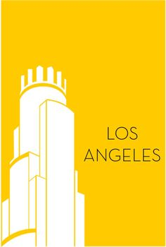 City poster series by Ryan M. Russell